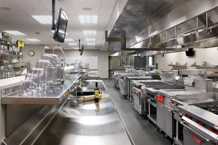 酒店餐廳廚房餐廳的自然通風設計方案方法