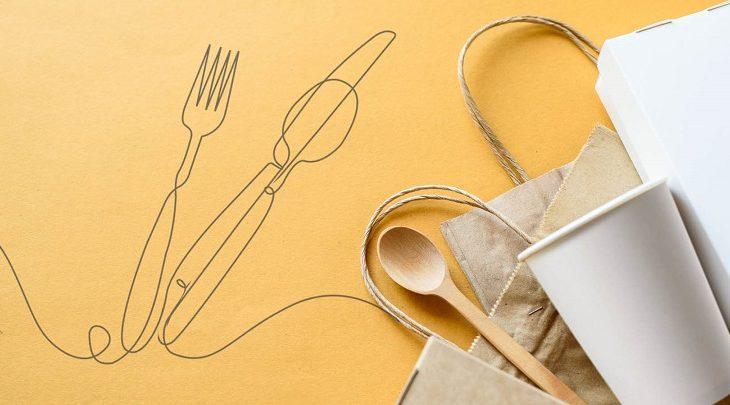當今死宅外賣送餐精美手冊:不但要吃得好,還需要吃得環保